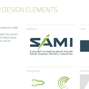 Saudi Arabian Military Industries (SAMI) Corporate Identity